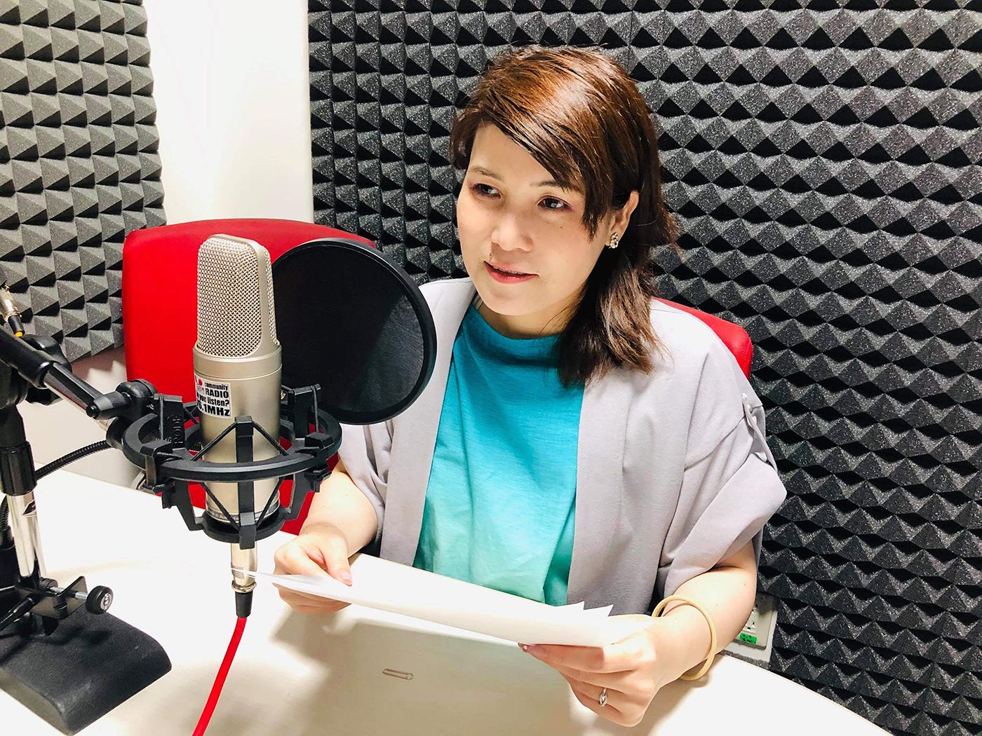 FM廿日市COOL CHOICEの放送場面